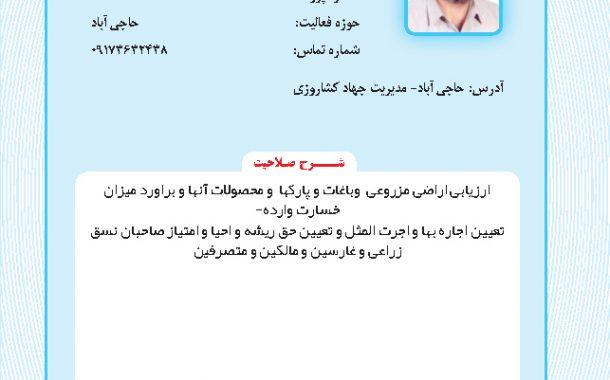 محمد علی علیپور بهمنمیری