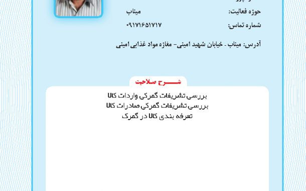 محمدرضا امیری نژاد مینابی